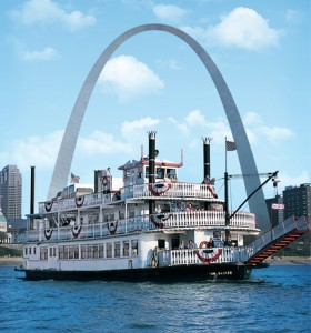 Gateway Arch Mississippi Riverboat Cruise