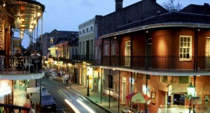 The French Quarter In New Orleans Louisiana