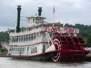 The Spirit of Peoria River Boat