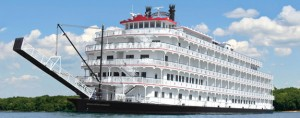 Queen Of The Mississippi Paddlewheel Boat