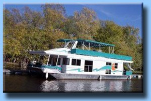 Mississippi River houseboat
