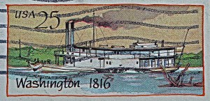 The Steamboat Washington Circa 1916