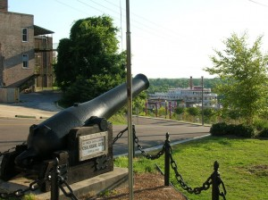Vicksburg Mississippi Civil War Cannon